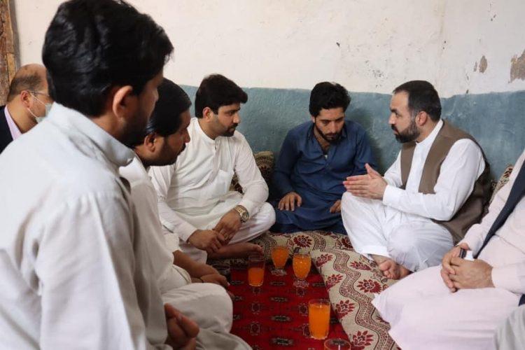 Atif mashal afghan ambasador islam abad in amir tahkal house