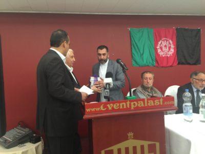 Joma khan hamdard Dr. Shir wali shir, hassan pacha books gift to Joma khan hamdard